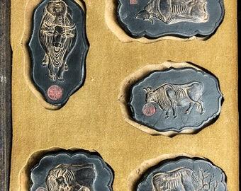 Vintage Five Oxen Ink Stick Set