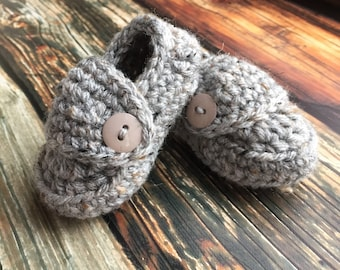 Crochet Booties, Baby Booties, Baby Shoes, Baby Clothes, Baby Loafers, Baby Slippers, Newborn Baby Shower Gift, Baby Boy Shoes, Newborn Prop