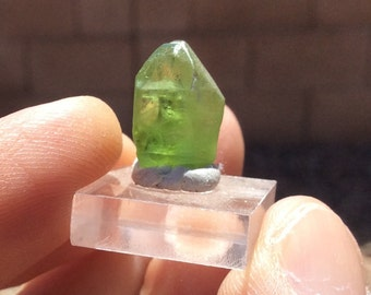 Natural Peridot Crystal