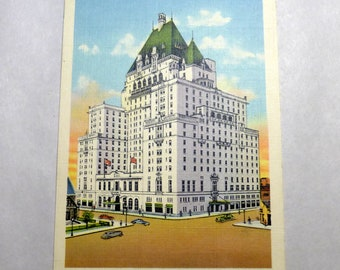 Vintage 1940's Postcard The Vancouver Hotel in B. C. Canada