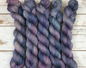 Merino/Silk 80/20, 437yard/100g, 4-ply, handdyed