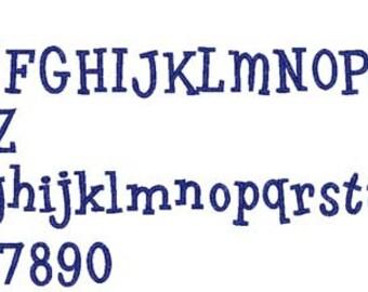 Tipsy Font