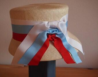 Straw hat Nature-Blue