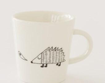 Ceramic Coffee Cup - Hedgehog