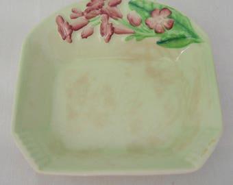 Vintage 1930's CARLTON WARE Australian Design CAMPION Pattern Jam Dish Soap Dish