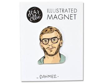 Jeffrey Dahmer - Individual Magnet