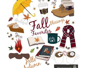 Fall Clipart, Fall greeting cards, Autumn clip art, Autumn cards, Autumn Cards Vectors, Fall vectors, Autumn Vectors, greeting cards