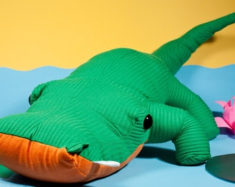 alligator plushie pattern