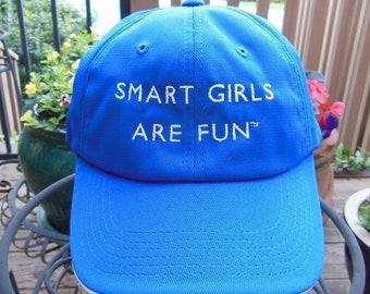 Smart Girls Are Fun Baseball Cap