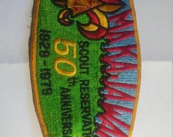 Spring Sale Vintage 1929 1979 Scout Reservation Patch