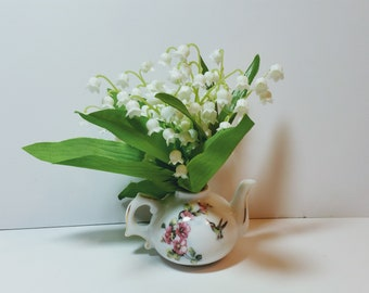 May birthdat gift ,Lily of the valley  arrangement -Anniversary  Gift -Mother's day gifts arrangement