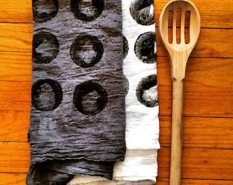 Flour sack tea towels (Moons)