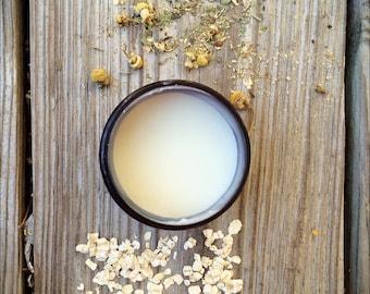 Chamomile-Oat Body Butter, Shea Butter, Sensitive Skin Body Butter, Eczema Body Butter
