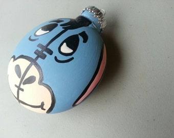 Eeyore or Piglet ornament handpainted,  personalized