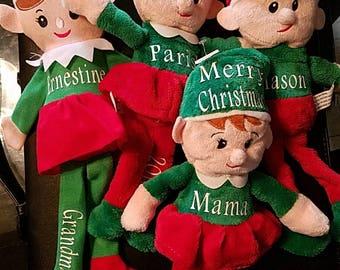 Personalized Mini Christian Elf