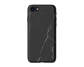 iPhone 7 case – Black Marble