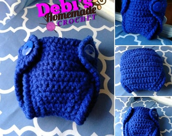 Diaper Cover, Made-to-Order Crochet