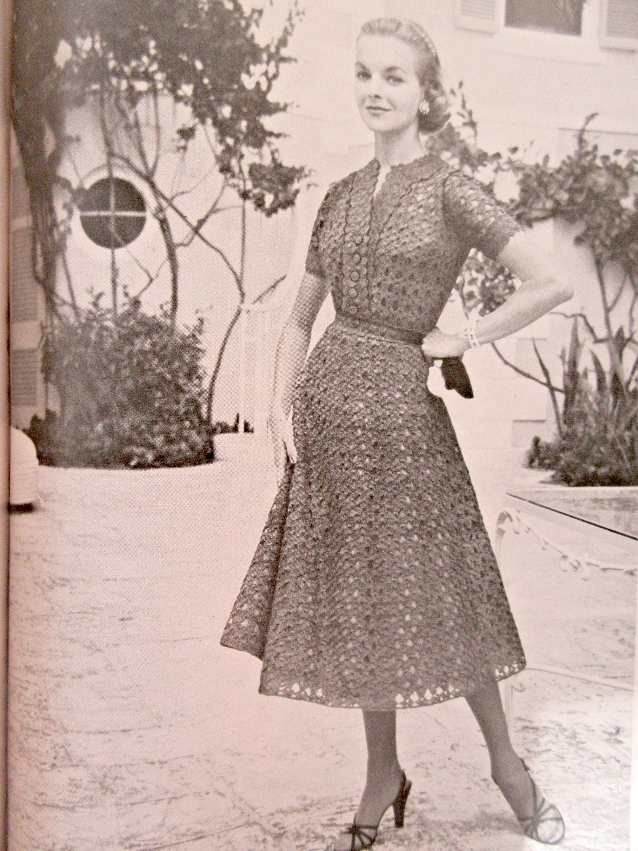 Vintage Vogue Knitting Book, 1954 Vogue Knitting Magazine, Vintage ...