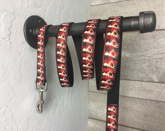 "The Hunter Leash | Designer 1"" Width Leash - 6 Foot Lead 
