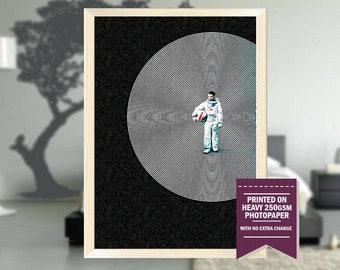 Moon, fanart, moon movie poster, moon movie print, moon movie, moon movie art, best posters, cool posters, moon fanart, cool art