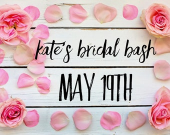 Kate's Bachelorette Paint Party May 19th @4pm
