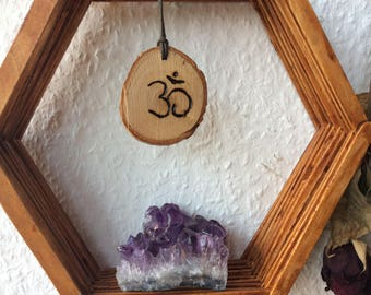 Chain, handmade, wood, Boho, hippie