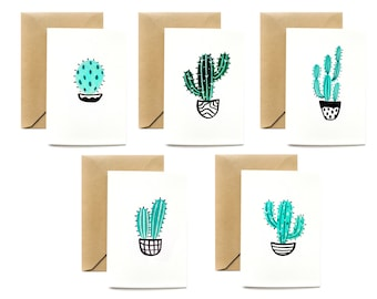 MINI Any OccasionGreeting Cards| Cactus