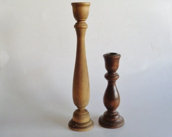 Vintage Candlestick Holders Set of 2