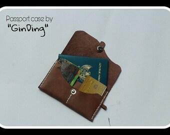 Leather Passport Case