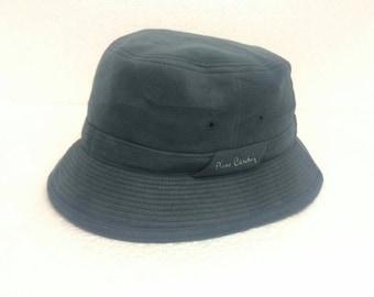 Rare PIERRE CARDIN Bucket Hats Big Logo Embroidered Size   60Cm