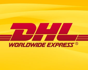 DHL Express Delivery, Please leave us your Phone number, DHL shipping takes approx.2-3 business days to arrive