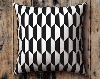 Black and White Pillow Case, Cushion Cover, Pillow Sham