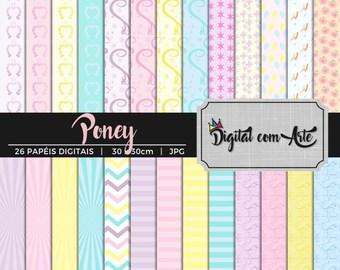 Little Pony Digital Paper