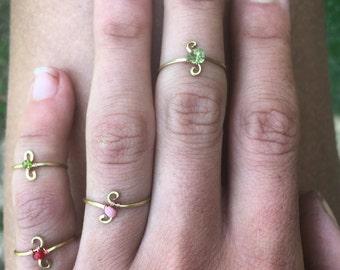 ETERNAL FRIENDSHIP RINGS *sold in pairs of 2*