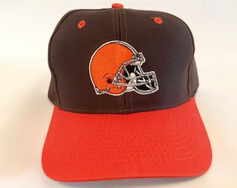 Vintage Cleveland Browns 1990s Snapback Hat Cap