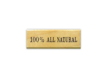 100 percent All Natural mounted rubber stamp, labeling -  making food, herbs or soap labels -  Sweet Grass Stamps No.15