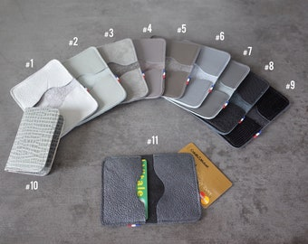 CARD cases - Double - grey/black