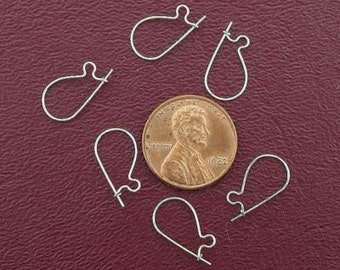 3 pairs sterling silver earwires