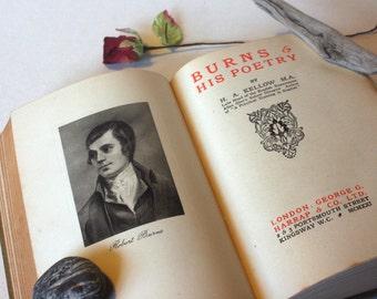 Marlowe Burns Byron poetry 1920s Poetical Vintage hardback Book Vintage, gift, collectables, Poet