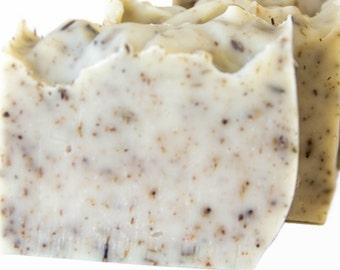 The OM natural soap handmade soap handmade handmade Lavender lavender gift present