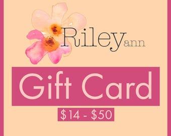 ShopRileyAnn Gift Card