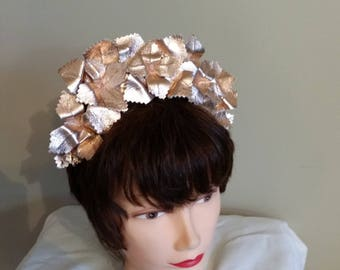 Rose Gold Leather Crown