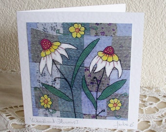 Woodland Flowers (1) Card
