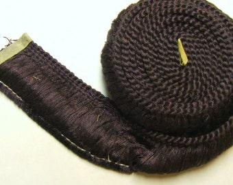 Dusty purple 1.5 inch fringe