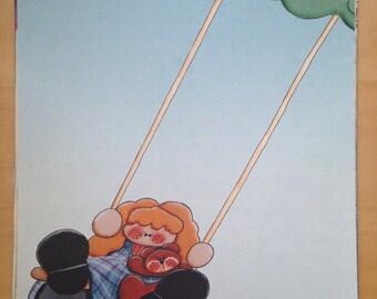 8.5x11 Swinging Paper