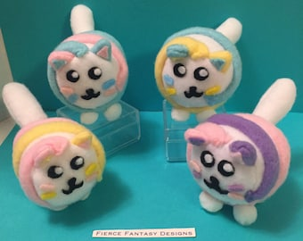 Marshmallow Cats Mini Plush