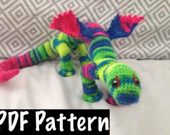 Sock Dragon Crochet Pattern