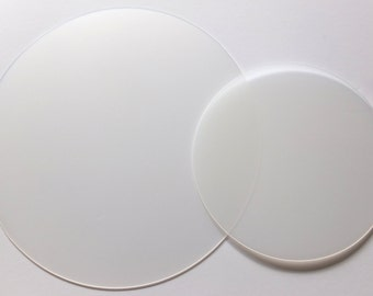 Translucent diffuser for drum pendant (ceiling) lampshades (only available to buy with a lampshade)