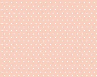 Polka Dot - Pink - Tout Petit KNIT by Cloud9 Fabrics