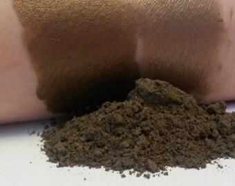 Gingerbread loose powder eyeshadow 5 gram jar mineral makeup